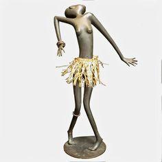 Bronze African Dancer Sculpture by Karl Hagenauer image 2