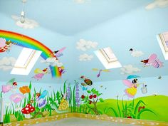 Sacredart - Children's murals - Fairy Mural