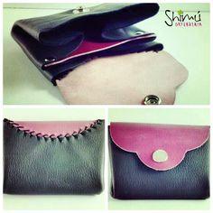 Nuevos monederos en cuero, hecho a mano. Handmade leather coin purse. www.shimuorfebreria.com