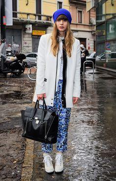 Streetlooks à la Fashion Week de Milan