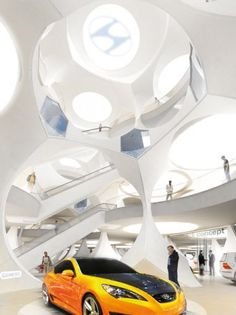 Showroom and Leisure Center / Manuelle Gautrand Architecture