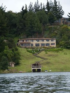 The Hotel Refugio Pozo Azul in Lago de Tota, Boyaca, Colombia. The most peaceful place I've ever been.