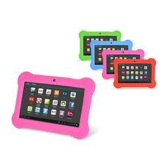 "Orbo Jr. 4GB Android 4.1 Multi Touch 7"" Tablet PC Kids Bundle w' Gel Case Bumper - $37.95 (save 81%) #ebay #orbo #ipads #ebookreaders"