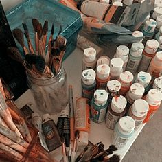 Art Studio Ideas Aesthetic 35 Ideas For 2019 Art Hoe Aesthetic, Aesthetic Photo, Aesthetic Pictures, Aesthetic Objects, Aesthetic Painting, Storyboard, Art Studios, Artsy Fartsy, Art Inspo