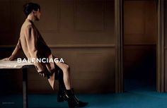 Sylvester Ulv front the men's Fall/Winter 2013 campaign of Balenciaga, captured by the lens of Josh Olins and styled by Clare Richardson.