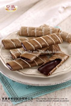 Wafer roll cookies recipes