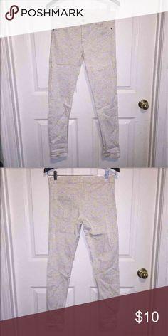 Skinny flower print pants Skinny flower print pants H&M Pants Skinny