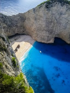 Navagio, Zakynthos Island, Greece! Great Location for Your Wedding in Greece! Visit: diamondevents.gr for more wedding locations!