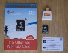 The Eyefi Mobi Pro wireless SD card offers powerful sharing options (Photo: Simon Crisp/Gi...
