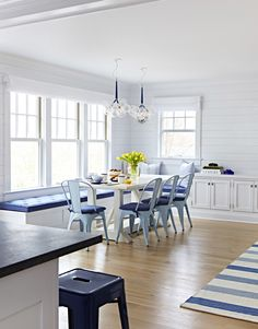Beach house dining space