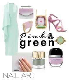 """Fashion Nails♡"" by ahumadarosy on Polyvore featuring beauty, Smith & Cult, Cushnie Et Ochs, Marc by Marc Jacobs, Susan Wheeler Design, Chloe Gosselin, Armenta and M2Malletier"