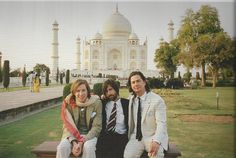 Wes Anderson on set for the Darjeeling Limited