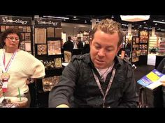 Scrap Time - Stamping with Tim Holtz Distress Paints