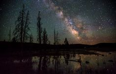 The 7 Best Spots on Earth for Stargazing (funny that this is the text that comes up when I wanted to pin this article, and  Yellowstone is not on the list:   Yellowstone National Park - stargazing - by National Park Service-Neal Herbert - 620 )