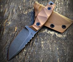 Compliance Edge is a custom knife shop located behind enemy lines in San Jose, CA. I discovered Compliance Edge on Instagram a year or so ago, and have been following one Compliance Edge design in ...