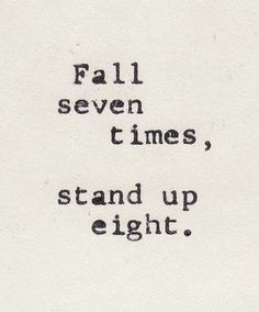 i found this powerful because no matter how many times you fall youll always get back up and try again. #fm