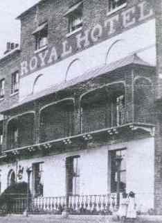 Royal Hotel, High Street, Southend, 1880