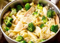 Dijon Chicken and Broccoli and Noodles - Recipes for Healthy Living by the American Diabetes Association®