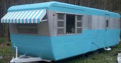 FOR SALE! EBAY! Vintage 1953 Pacemaker Travel Trailer Mobile Home 8x33 NR NO RESERVE