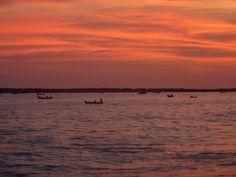 Best of - coucher de soleil à Kollam, Kerala, Inde