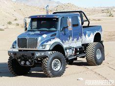 Iron Revenge Custom 2005 Cxt - Four Wheeler Magazine - This truck looks cool Mb Truck, Diesel Trucks, Lifted Trucks, Cool Trucks, Pickup Trucks, Cool Cars, Truck Mods, Medium Duty Trucks, Heavy Duty Trucks