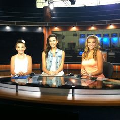 At a local news station :) Dance Moms Kendall Vertes, Kendall K Vertes, Local News, Pretty Little Liars, Live, Pretty Litte Liars