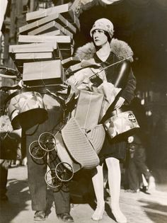 shopping, 1920s