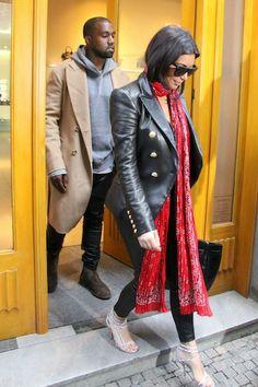 Kim Kardashian and Kanye West Break from Honeymoon to Attend Friend's Wedding Rehearsal Dinner | Life & Style