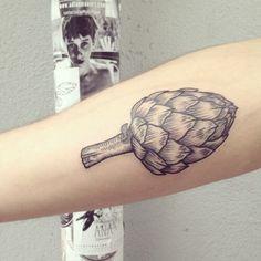 Artichoke tattoo