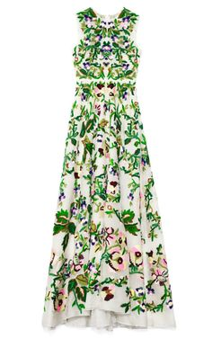 spring loveliness by Valentino / Avorio Multi Organza Gown