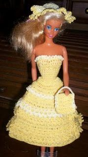 Nina's At My House: LADY BELLA Barbie Dress