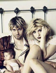 Kurt, Courtney, and Francis