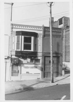 Green Lantern Restaurant, 210 Market St., Alton. Began as Sandwich Shoppe in 1920s. George Walker bought it in 1943 and kept the restaurant open until 1975.  From Hayner Library