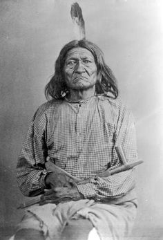 American Indians : Long Soldier - Gros Ventre 1880.