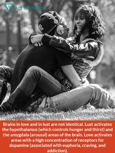 Love and lust make our brains widely different