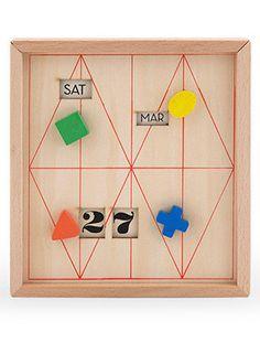 Calendar Stationary Box