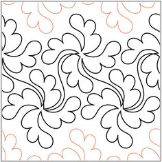 """Lorien's Pirouette© 2015 Hermione Agee A single row is 13"""" wide– printed with one row – 144"""" longA single feathered pinwheel measures approximately 8""""W x 8""""H"""