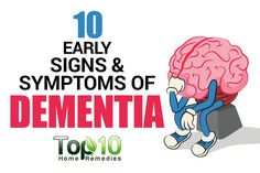 9. Lack of Initiative or Apathy Another early dementia symptom is lack of initiative or apathy. The person may slowly lose interest in hobbies or activities that he or she used to enjoy in the past. The person may even show less interest in going out with family members or friends. Instead, the person may …