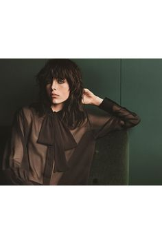 Edie Campbell talks fashion, fragrance and her unconventional favourite scent as we unveil her new YSL Black Opium campaign