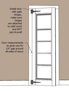 Inset Bookshelf Doorway Diy Projects Hidden Doorhidden