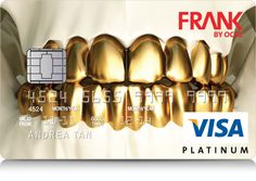 FRANK by OCBC Bank Card. Powered by MyElebra.com