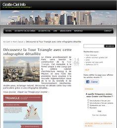 Le 15ème arrondissement de Paris verra bientôt la construction de la Tour Triangle.  Découvrez-là avec cette #infographie détaillée. http://tour-triangle-paris.com/tour-triangle-infographie-detaillee/
