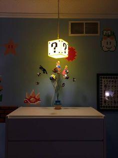 Super Mario Block Light - Nintendo Baby Nursery