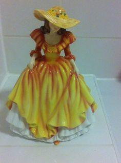 Rare Royal Doulton Figure Heartfelt Wishes, £89.99 or best offer http://www.ebay.co.uk/itm/Rare-Royal-Doulton-Figure-Heartfelt-Wishes-HN5421-New-and-Boxed-/251696063177