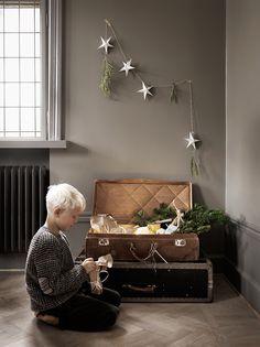 Välkommen hem till vår bloggare Malin Persson i det vackra huset i Malmö. Här berättar hon själv om hur hon skapar stämning till vinterns alla högtider.