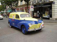 Citroen Ds, Psa Peugeot Citroen, French Classic, Classic Cars, Peugeot 203, Peugeot France, Vintage Cars, Ferrari, Trucks