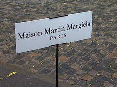 Margiela #signage