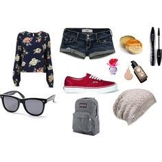 casual day at the mall :), created by smepley on Polyvore