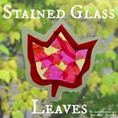 """The (mis)Adventures of a """"Born Again"""" Farm Girl: Make Your Own Stained Glass…"""