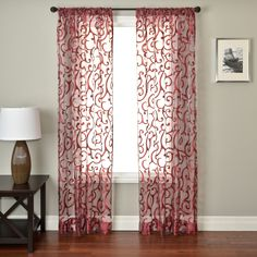Abel Rod Pocket Single Curtain Panel